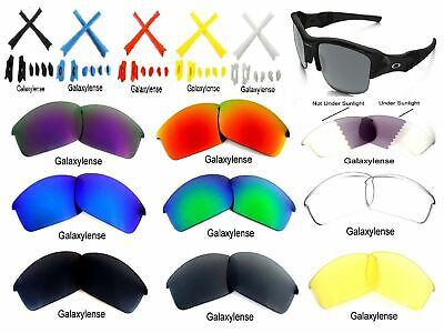 deb897c975 Galaxy Replacement Lenses For Oakley Flak Jacket Sunglasses Multi-Color  100%UVAB • 7.03