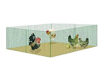 V Protek Mesh Galvanized Fence Wire Poultry Netting W 36 InchxL 12Ft With Post • 28.94£