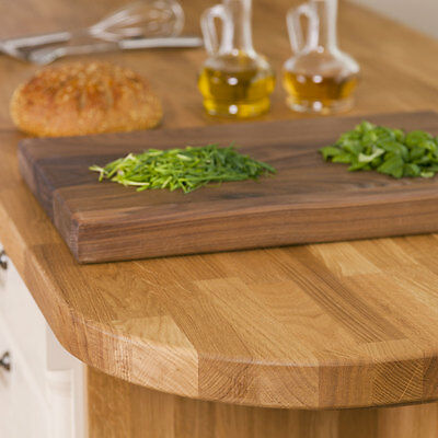 Oak Solid Wood Worktops, 40mm Staves, Solid Real Timber Wooden Kitchen Worktop • 14.99£