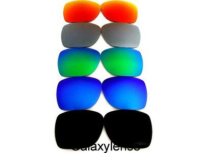 £18.87 • Buy Galaxy Replacement Lenses For Oakley Deviation Black/Blue/Green/Grey/Red 5 Pairs