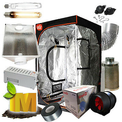 AU459.90 • Buy Hydroponics Setup Magnetic Ballast Grow Tent 6  Ventilation Fan Grow Light Kit