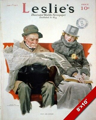 $ CDN19.45 • Buy Norman Rockwell Artist 1918 Magazine Cover Artoil Painting Print On Real Canvas