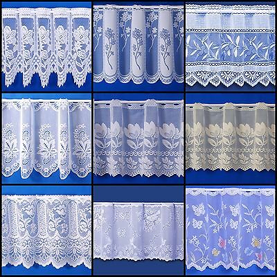 £2.30 • Buy Choice Of Fantastic Quality Cafe Net Curtains - Sold By The Metre - Free Postage