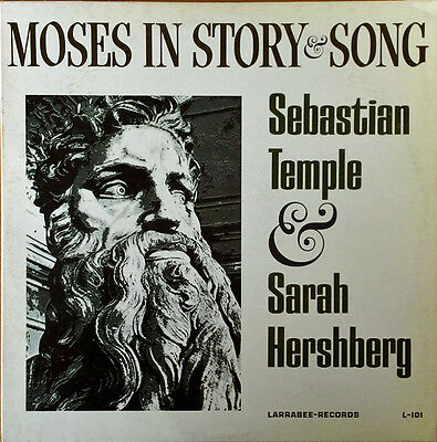 AU19.60 • Buy Sebastian Temple & Sarah Hershberg - Moses In Story & Song - Larrabee - 2 Lp Set