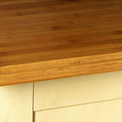 Caramel Bamboo Wood Kitchen Worktops, Oils And Accessories Solid Wooden Worktop • 65£