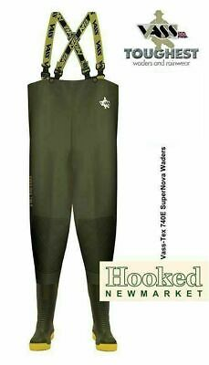 £110.95 • Buy VASS TEX 740 SUPERNOVA Chest Waders- All Sizes Incl NEXT DAY DELIVERY