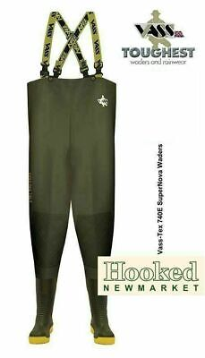 £94.95 • Buy VASS TEX 740 SUPERNOVA Edition Chest Waders- All Sizes