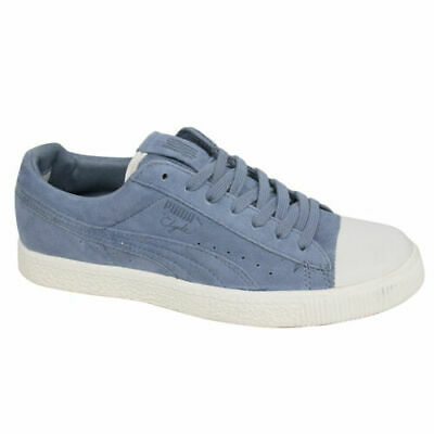 Puma Clyde X UNDEFEATED Suede Mens Lace Up Blue Trainers 352778 02 B58A • 29.99£
