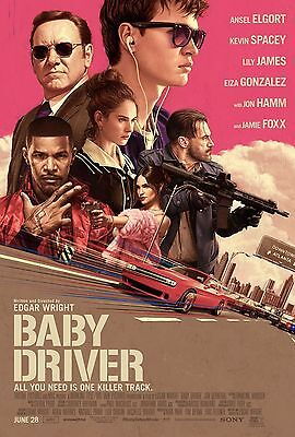 £5.04 • Buy Baby Driver Poster A4 A3 A2 A1 Cinema Movie Large Format Art Design 2