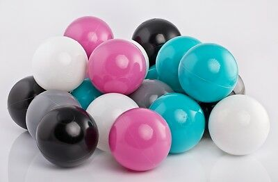500 Brand New Soft Play Balls Plastic Ball Pit Pool Quality Commercial Grade 6cm • 69£