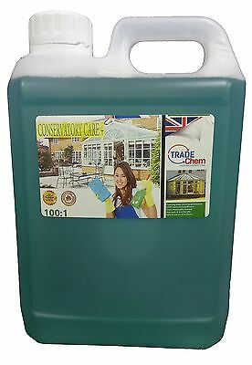 Conservatory Cleaner + PVC Cleaner And Restorer 2L - Trade CHEM  • 14.75£
