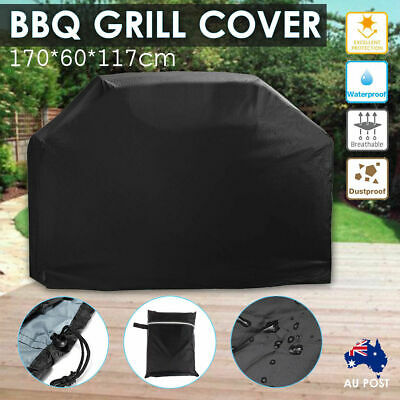 AU19.56 • Buy BBQ Grill Cover 4 Burner Outdoor Waterproof Gas Charcoal Barbecue UV Protector