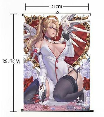 AU9 • Buy Hot Japan Anime Overwatch Whole Art Home Decor Poster Wall Scroll 8 X12  06