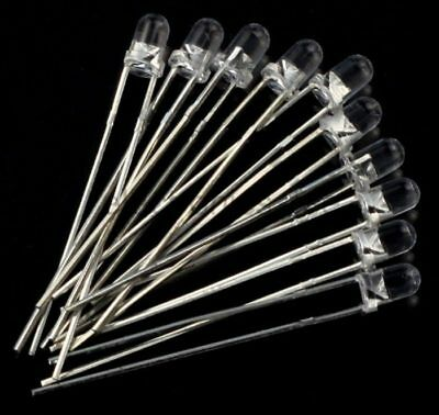 £2.22 • Buy 10 X 5mm IR LED Infrared 940nm Light Emitting Diode Lamp Water Clear