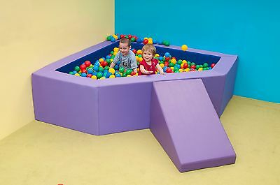 Corner Ball Pit Soft Play Baby Kids Ball Pool Commercial Quality 2m Indoor/Out • 659£