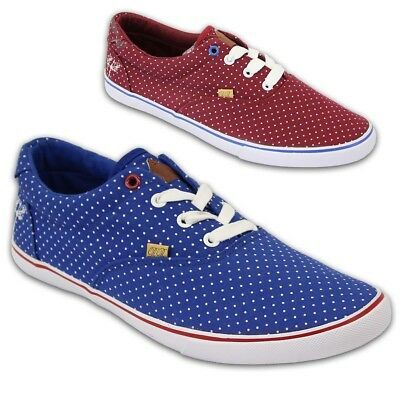Mens ROCK & REVIVAL Pumps Polka Dot Trainers Pumps Lace Up Sneaker Summer Casual • 21.98£