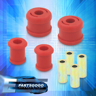 $38.99 • Buy For 01-05 Civic / 02-06 RSX Polyurethane JDM Red Front Lower Control Arm Bushing