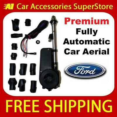 £34.99 • Buy Ford Escort Premium Car Aerial Electric Automatic 12v 12 Volt Wing Fit