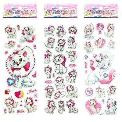 We Love Marie Cat Stickers Children Party Bag Fillers Gift Stationery Crafts • 1.59£