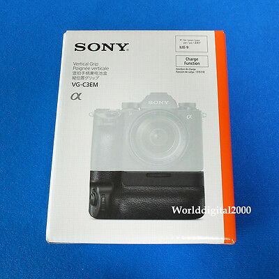 $ CDN381.49 • Buy Sony Genuine VG-C3EM Battery Vertical Grip For SONY A7M3 A7 III A7R III A7RM3 A9