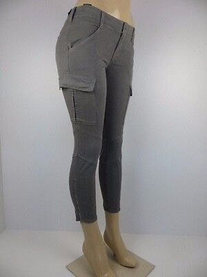 £80.46 • Buy NWT J BRAND WOMENS JEANS, CROPPED HOULIHAN, SKINNY CARGO, Size 24, Retail $268