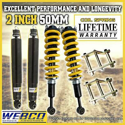 AU715 • Buy 2 Inch Pre Assembly Easy Lift Kit King Coil Springs For Nissan Navara D40 STX550