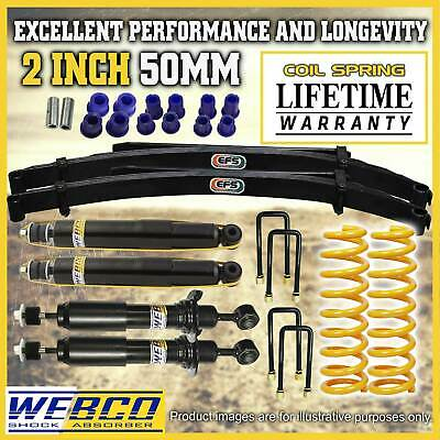 AU999 • Buy 2 Inch Lift Kit Webco Shock Absorber King Springs EFS Leaf For Nissan Navara D40