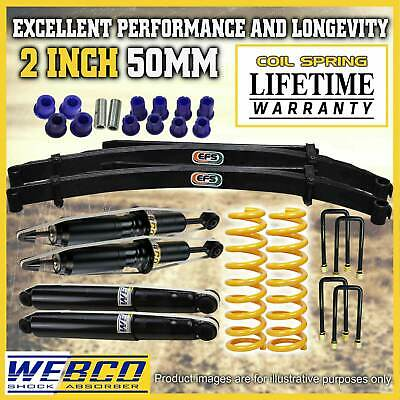 AU950 • Buy 2 Inch Lift Kit Shocks King Coil EFS Leaf Springs For Toyota Hilux KUN26 GGN25