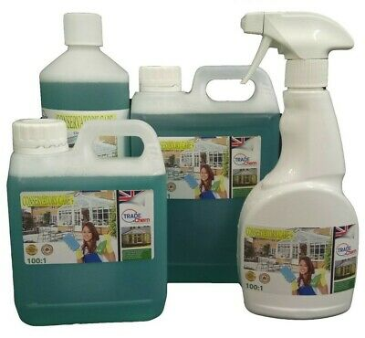 £22.99 • Buy Conservatory Cleaner + PVC Cleaner And Restorer (4.5 Litres In TOTAL)