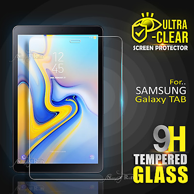 AU8.99 • Buy For Samsung Galaxy Tab A A6 S3 S4 7.0 8.0  10.1  Tempered Glass Screen Protector