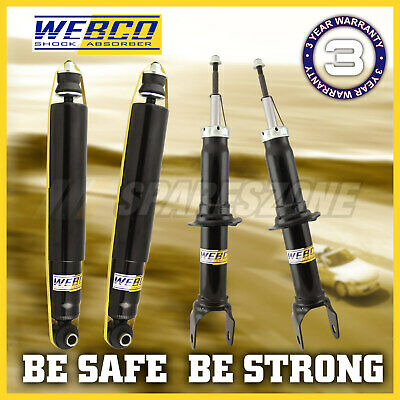 AU314.90 • Buy Front + Rear WEBCO Elite Shock Absorbers For KIA PREGIO D TB VAN 02-06