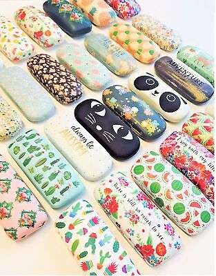 Hard Glasses Cases Spectacle Floral Sunglasses Storage Hard Case Glasses Cases • 5.65£