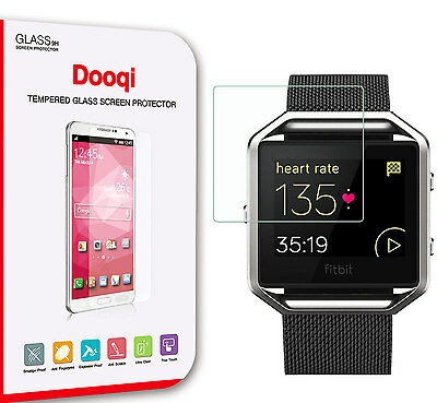 AU9.30 • Buy 3X Dooqi Premium Ultra Clear Tempered Glass Screen Protector For Fitbit Blaze