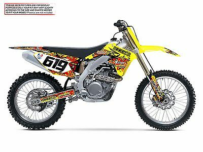$159.99 • Buy 1999 2000 Rm 125 / 250 Graphics Kit Suzuki Rm125 / Rm250 Bike Decals
