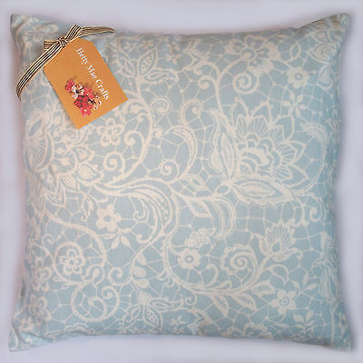 Cushion Cover Made From Clarke And Clarke Lace Sky Fabric • 8.95£