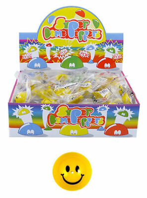 12 Smiley Face Poppers - 45mm - Pop Ups Happy Loot/Party Bag Fillers Wedding • 4.19£