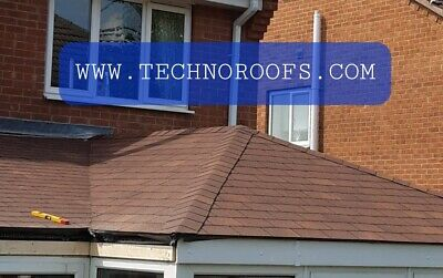 £40 • Buy Roofing Felt Shingles / Shed Roof Felt Tiles / 30 Year Life Expectancy