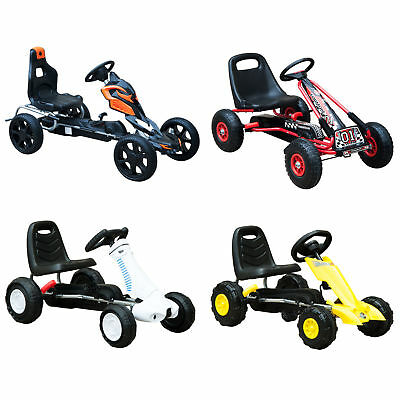 £39.99 • Buy Kids Pedal Go Cart Children Outdoor Ride-on Car Racing Toy Wheels 4 Choices