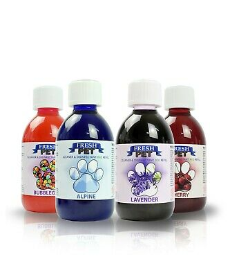 Fresh Pet Disinfectant Cleaner Eco-Refill Concentrate Makes 4X5L Mix & MatchF&F • 20.65£