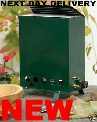 NEW Propane 2.0KW Greenhouse Heater Complete With A Full 19kg Calor Gas Bottle • 269.99£