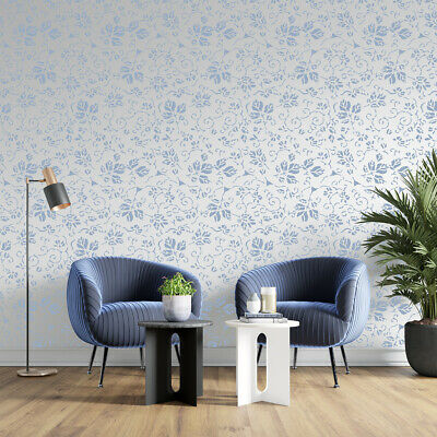 Lace STENCIL Florish Allover Pattern Paint Wall Furniture Reusable Crafts FL99 • 5.49£