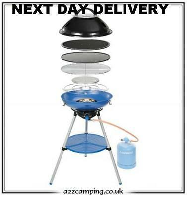 New Campingaz Butane/Propane Gas  Party Grill 600 4kW BBQ With Carry Case • 2,149£