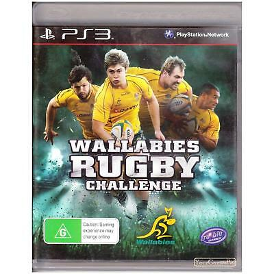 AU28 • Buy Playstation 3 Wallabies Rugby Challenge Pal Ps3 [uln] Your Games Pal