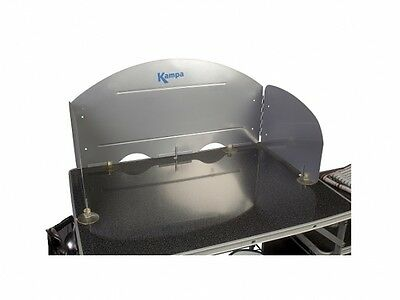 £17.99 • Buy KAMPA UNIVERSAL FIELD CAMPING KITCHEN WINDSHIELD For Colonel Major Commander