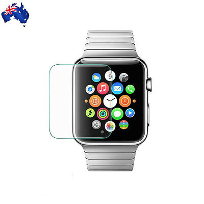 AU3.60 • Buy NEW Premium Tempered Glass For Apple Watch 42mm Guard Film Screen Protector