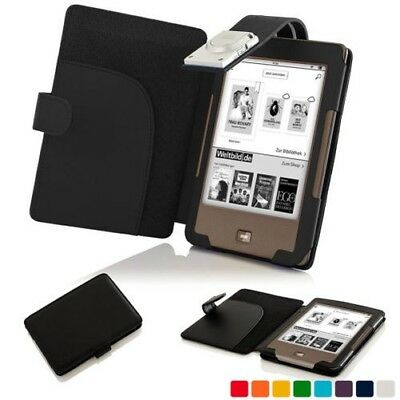 AU12.19 • Buy Forefront Cases Smart Leather Case Cover With LED Light For Tolino Page
