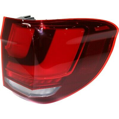 $182.48 • Buy Tail Light For 2014-2018 BMW X5 Right Outer LED Clear & Red With Bulb