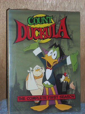 £63.71 • Buy Count Duckula - The Complete First Season (DVD, 2005, 3-Disc Set)
