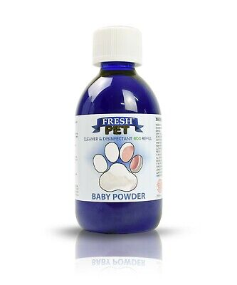 FRESH PET Eco-Refill 5L - Kennel Disinfectant   Cleaner   BABY POWDER • 7.97£