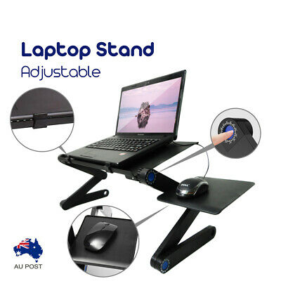 AU36.99 • Buy Foldable Multi-Fuction Laptop Notebook Computer Home Desk Bed Tray Table Stand